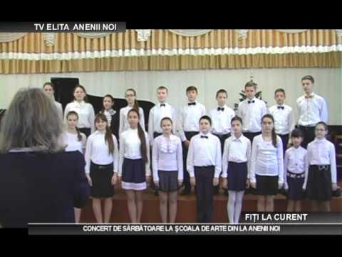 Concert de sărbătoare organizat de Şcoala de Arte din Anenii Noi!