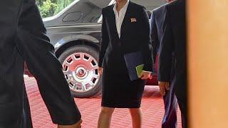 شاهد: سيارة زعيم كوريا الشمالية تثير فضول الصحافيين