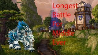 Longest battle for middle ever - Feral druid pvp 8.2.5
