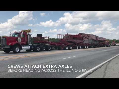 Moving the SWEPCO Superload