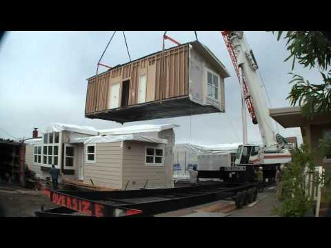 Modular Homes Half Moon Bay, CA – raw video Home Set