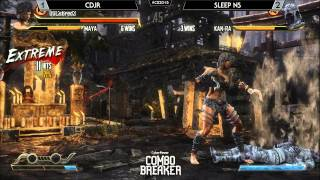 Killer Instinct Saucey Suite @ Combo Breaker 2015 - TSC CDjr vs Sleep NS [720p/60fps]
