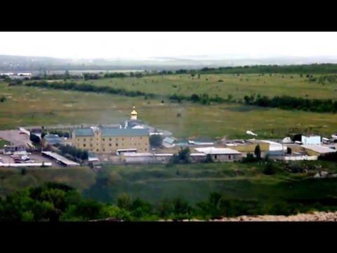 Ukraine War - Russian armed forces seize Ukrainian border station in Lugansk Ukraine
