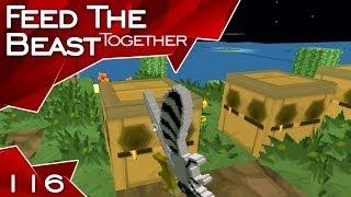 Feed The Beast #116: Beealyzer [Minecraft FTB Together ft. FreshFriendz]