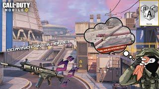 Jugando con la HBRa3 y Probando el nuevo operador Katana!! || Call of Duty Mobile Temp. 8