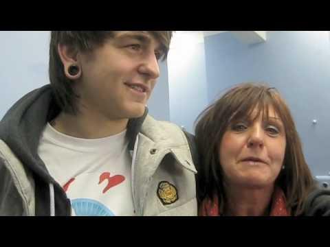 K! Tour 09: BMTH's mum in Cardiff