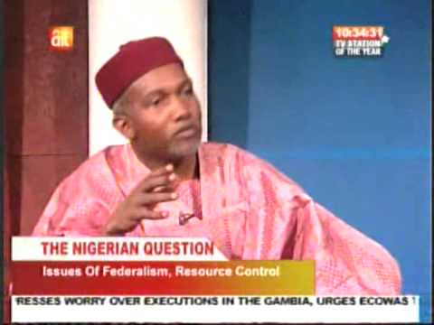 Yusuf Tuggar: The Nigerian  Question - State Police and Issues of Federalism and Resource Control