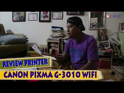 Review Printer Wifi Infus Pabrikan Original - Canon Pixma G 3010
