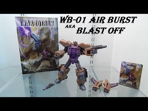 Transformer Video Review: WB-01 Airburst aka Blast Off