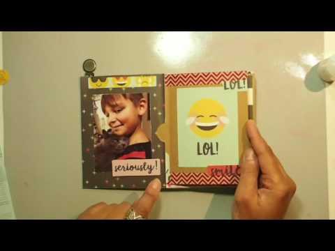 Emoji Love- Quick and Easy Envelope Mini Album