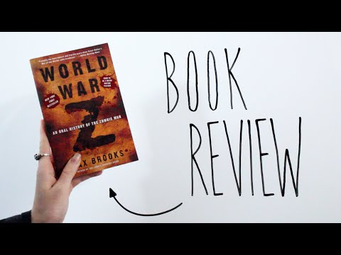 WORLD WAR Z by Max Brooks   ACROSTIC BOOK REVIEW