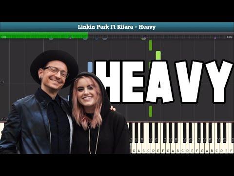 Heavy (Linkin Park Ft. Kiiara) Piano Tutorial - Free Sheet Music