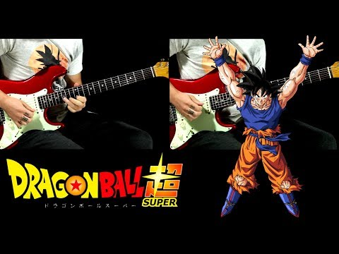 Dragon Ball Super - Genki Dama Theme guitar cover