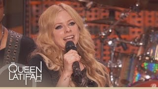 Avril Lavigne Performs Rock N Roll On The Queen Latifah Show