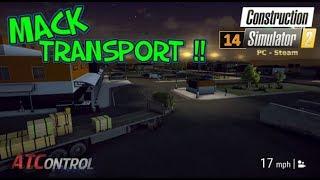 Construction Simulator 2 -- PC/Steam -- EP#14 -- Mack Transport !!