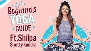 Yoga for Beginners Ft. Shilpa Shetty Kundra | International Yoga Day | Pinkvilla