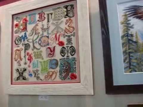Выставка вышивка сокольники