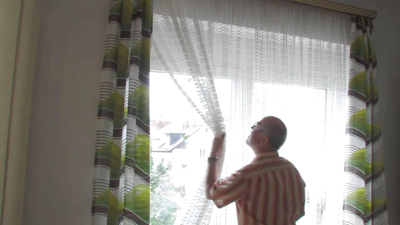 Awesome Ikea Vidga Schiebegardine Youtube Pictures - Erstaunliche ...