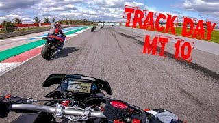 Yamaha MT10 on Track - The superbike Killer - Track Day at Portimão