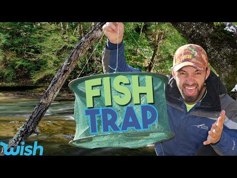 Wish Fish Trap Review And Test In SUPER CLEAR Creek Using Google Maps!