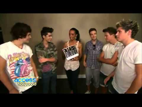 One Direction - Reveal Their Celebrity Crushes