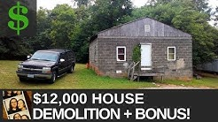 $12,000 Fixer Upper House // Renovation Demolition + BONUS!