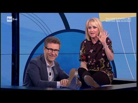 Luciana Littizzetto - La pubblicità dei pneumatici - Che tempo che Fa 21/05/2017
