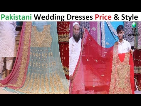 73a943a36e Pakistani Bridal Dress Shopping || Latest Fancy Sharara Dresses & Stylish  Lehenga