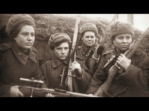 Soviet Sharpshooters' Rifles (With Danielle)
