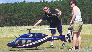 XXL RC MODEL HELICOPTER BELL 429 VARIO IN FLIGHT DEMO!! *REMOTE CONTROL HELICOPTER