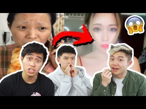 5 CRAZY OLD TO YOUNG CHINESE MAKEUP TRANSFORMATIONS FROM TIK TOK CHINA