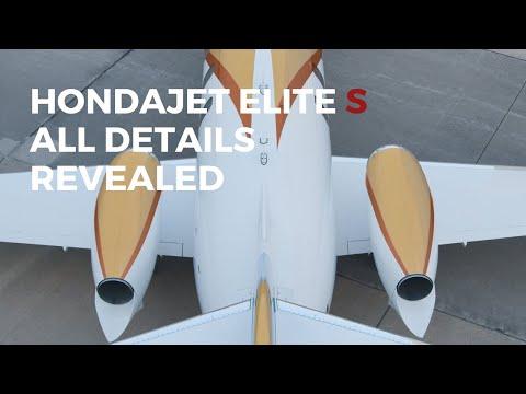 HondaJet Elite S All New Details Revealed | Innovation Continues