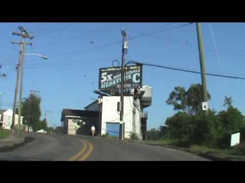 A Drive Thru Clarksburg, West Virginia - Labor Day Weekend 2016