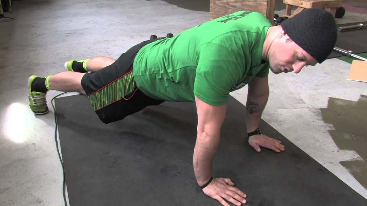 how to do a push up perfect push up form youtube