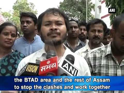 Situation returns to normal in violence-hit Bodo areas of Assam