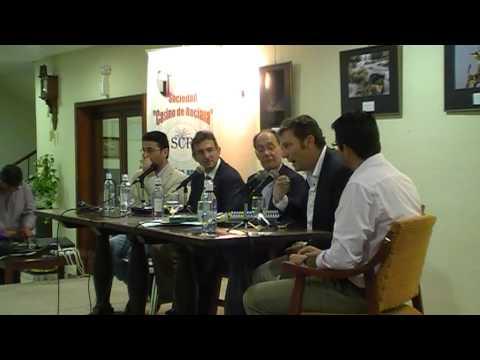 Las Buenas Letras - Homenaje a Odón Betanzos Palacios en el Casino de Rociana