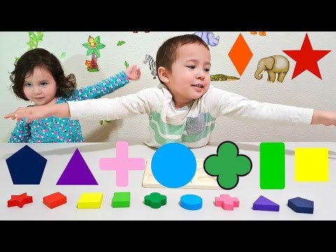 Thumbnail: Learn Colors and Shapes for Toddlers and Babies with Colorful Shape Toy - Kids Learning Colours