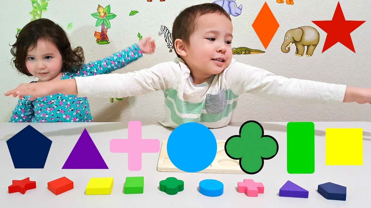 Colors for toddlers and babies - Learn Colors And Shapes For Toddlers And Babies With Colorful Shape Toy Kids Learning Colours