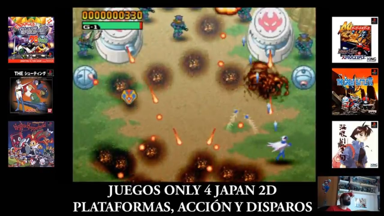 Juegos Only 4 Japan En 2d Para Playstation 1 Plataformas Accion Y