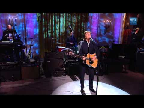"Paul McCartney performs ""Michelle"" 