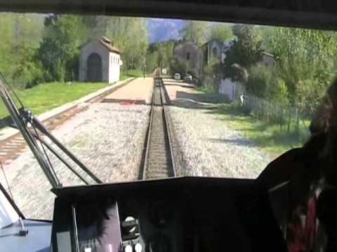 Train ride Ajaccio - Corte; 01-05-2009