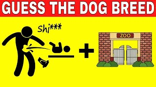 Can You Guess the DOG BREED by EMOJI? | EMOJI CHALLENGE | Name The Dog Type
