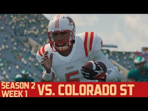 NCAA Football 14 | Aurora Dynasty - Season 2, Week 1 @ Colorado State