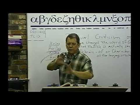 #9013 Textual Criticism #13 - Apologetics- Textus Receptus- Strong's Concordance- Interlinear Bible