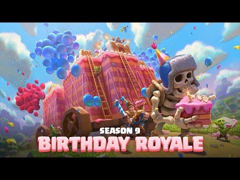 Clash Royale: New Card & Birthday Event! 🎂 TV Royale Season 9