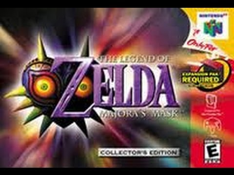 Review of The Legend of Zelda Majora's Mask for 3DS, N64, Gamecube, and Wii by Protomario