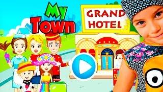 СМЕШНОЕ ВИДЕО для детей Новый мультик ПРО ОТЕЛЬ детская игра My Town