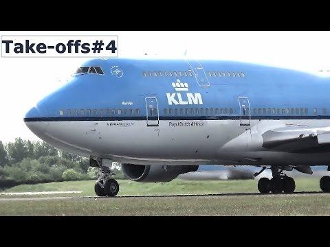 Amsterdam Airport Schiphol planespotting - Take-offs #4