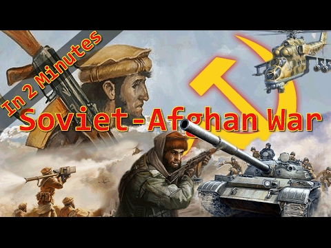 Soviet-Afghan War - In 2 Minutes
