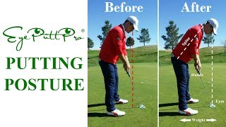 Learn the confident & consistent putting posture professionals use on tour!